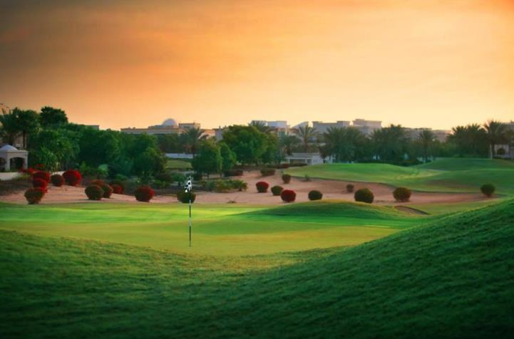 The lovely 8th at The Montgomerie Golf Club