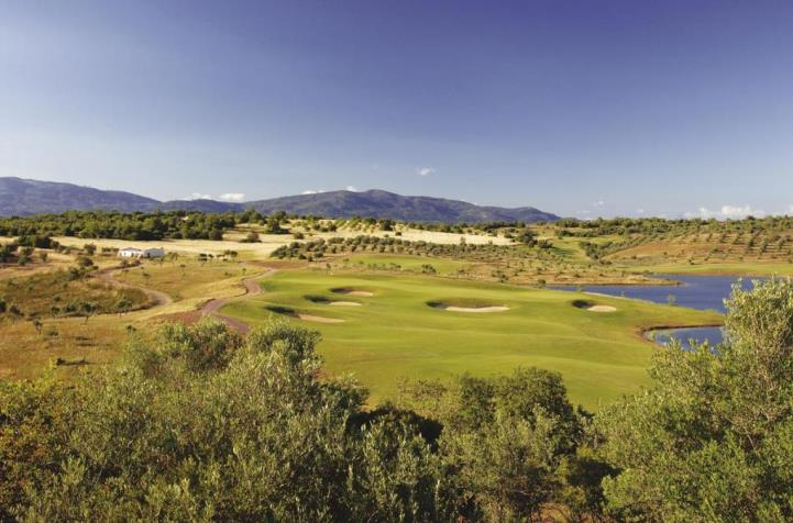 Incredible aerial photo of Alamos Golf