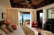 Master bedroom with direct access to the Veranda & Plunge Pool at Anahita The Resort
