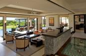 Living, Dining and fully fitted kitchen in the Villas at Anahita The Resort