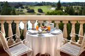 Breakfast on the balcony at Barcelo Montecastillo Golf