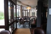 Claret Jug clubhouse restaurant in Belton Woods Golf Resort