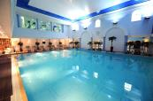Carden Park's beautiful spa indoor swimming pool