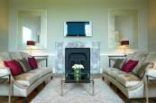 Suite Lounge at Carton House Hotel & Golf Club in Ireland