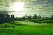 Stunning shot of the 16th green