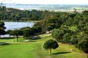 View down the course at Castro Marim Golfe & Country Club