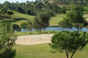 View down the length at Castro Marim Golfe & Country Club