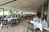 Olive tree garden room at Newport's Celtic Manor