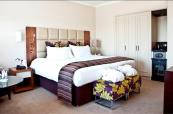 Large double bedroom for a great night sleep