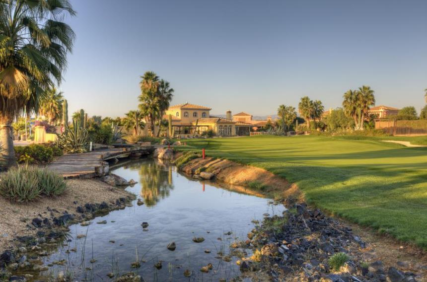 Book a Golf Break  Desert Springs Resort  Costa Almeria