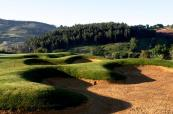 Challenging bunkers at CampoReal