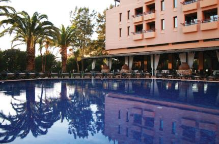 A picture of the pool at Dom Pedro Marina Hotel, Vilamoura, Portugal.