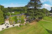 Authentic clubhouse at Donnington Valley Hotel and Spa