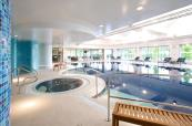 Revitalising jacuzzi at Donnington Valley Hotel and Spa
