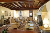 Luxury decor inside the Clubhouse at the Garda Golf Country Club, Italy