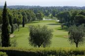 Woodland that goes on for miles at the Garda Golf Country Club, Italy