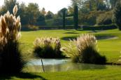 Flowers and plants aplenty at the Garda Golf Country Club, Italy