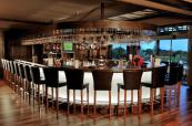 Modernly styled bar at Gloria Golf Resort