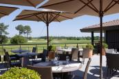 Club House Terrace at Golf du Medoc Resort