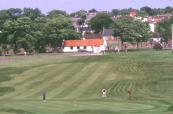 Well manicured fairways at Gullane Golf Course