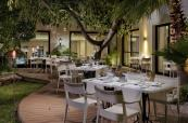 Privilege outdoor terrace Cordoba Restaurant at H10 Andalucia Plaza