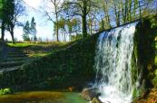 Stunning water feature at Heythrop