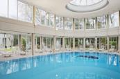 Pool area at Holiday Inn Le Touquet