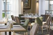 Restaurant area at Holiday Inn Le Touquet