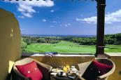 Golf-view balcony at Hotel Almenara