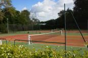 Tennis court at Hotel du Parc