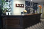 Reception area at Hotel Red Fox,
