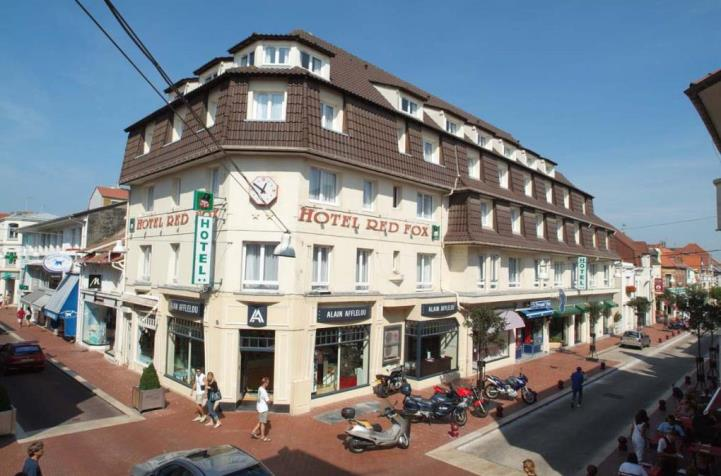 Hotel red fox le touquet france book a golf break for Hotels le touquet