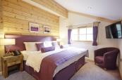 Bedroom of the Hunter Lodges at Celtic Manor_2048x1366
