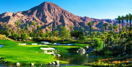 Celebrity Course at INdian Wells