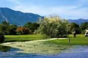 The picturesque course on site at Is Molas Golf Resort