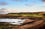 Beautiful scenery at Kingsbarns Golf Links