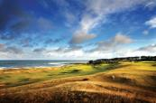 Lovely coastal shot at Kingsbarns Golf Links
