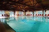Swimming pool area at Le Grand Hotel Le Touquet