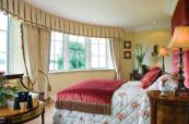 Double bedroom with views over the Lough Erne