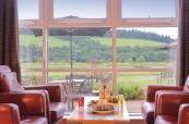 Stunning views from the clubhouse at Macdonald Cardrona
