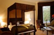 Four poster bedroom at Marine Hotel & Spa North Berwick