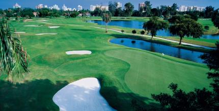 Miami Beach Golf Club ariel view