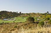 Fairway bunkers in the sun at Monte Rei Golf Club