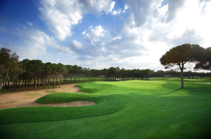 Montgomerie Course in Turkey