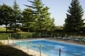 Exterior swimming pool at Novotel Saint-Quentin Golf National