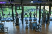 State of the art gym for the active guests at Old Thorns Manor
