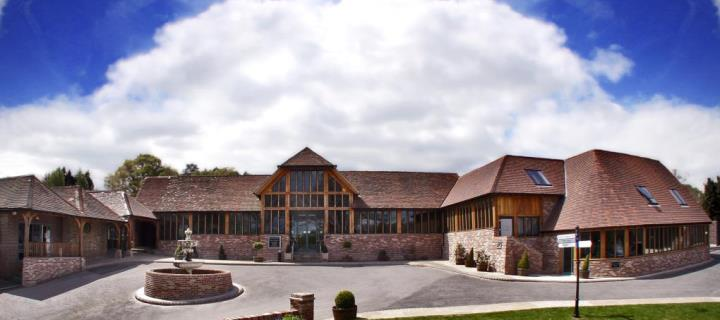 Beautiful hotel at Old Thorns Manor