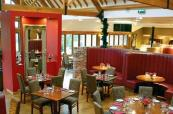 Fine dining at Old Thorns Manor and Golf Resort
