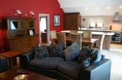 Two Bedroom Apartment Lounge & Kitchen at Old Thorns Manor Hotel