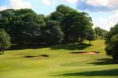Tough approach shot on the 12th at Oulton Hall Golf Club
